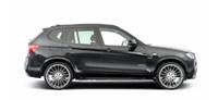 Тюнинг BMW X3 F25 с обвесами Hamann