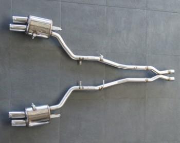 Выхлопная система HAMANN для BMW F10