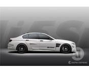 Аэродинамический комплект Mi5Sion HAMANN для BMW M5 F10