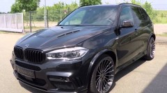 Карбоновый капот Hamann BMW X5M F85