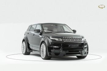 Hamann Widebody для Range Rover Evoque 5doors