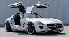 Аэродинамический пакет HAMANN для Mercedes SLS AMG C197