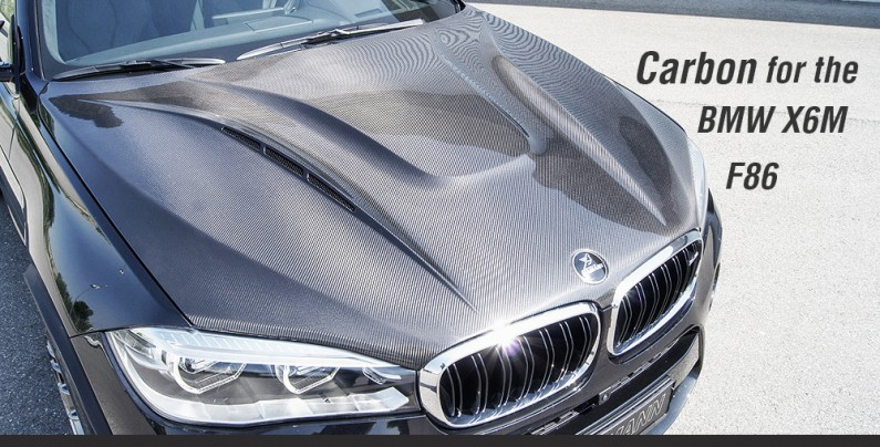 Карбоновый капот Hamann на BMW X6 F86
