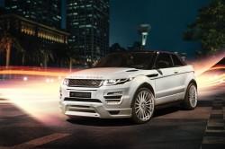 Кабриолет Range Rover Evoque с тюнингом Hamann