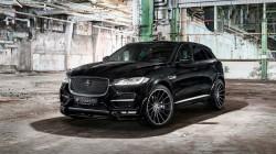 Более мощный и стильный Jaguar F-Pace от Hamann